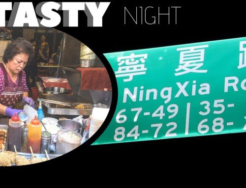 Ningxia Night Market: Street Food in Taipei, Taiwan (Vlog)