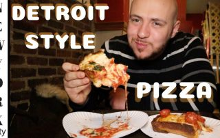 Detroit Style Pizza in New York City