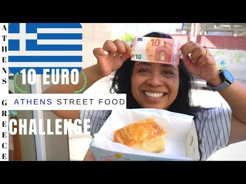 Athens Greece street food 10 euro
